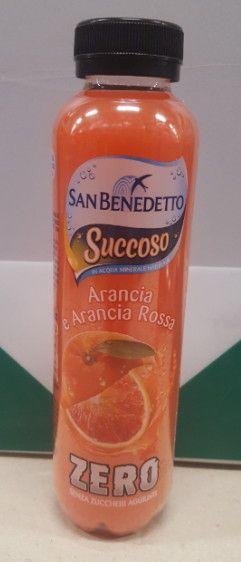 San Benedetto Arancia e Arancia Rossa senza zuccheri aggiunti cl 40