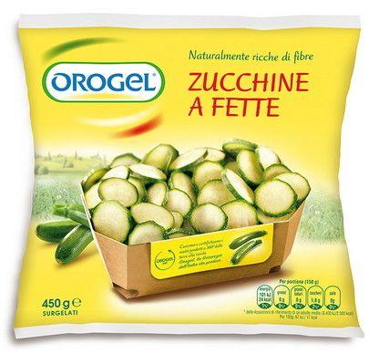 Orogel Zucchine a Fette gr 450 Surgelati