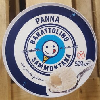Gelato Barattolino Panna gr 500 Sammontana
