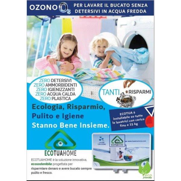 Generatore Ozono Q2 per Lavatrici fino a 15 Kg