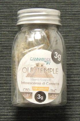 Hold Temple Infiorescenza Top Senza Semi di Cannabis Legale 3g
