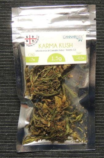 Karma Kush Infiorescenza di Cannabis Legale Economy 1,5g