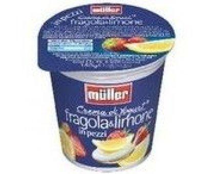 Yogurt Muller gr 125 Fragola Limone