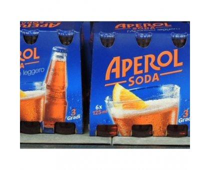 Aperol Soda CL 12.5 X 6