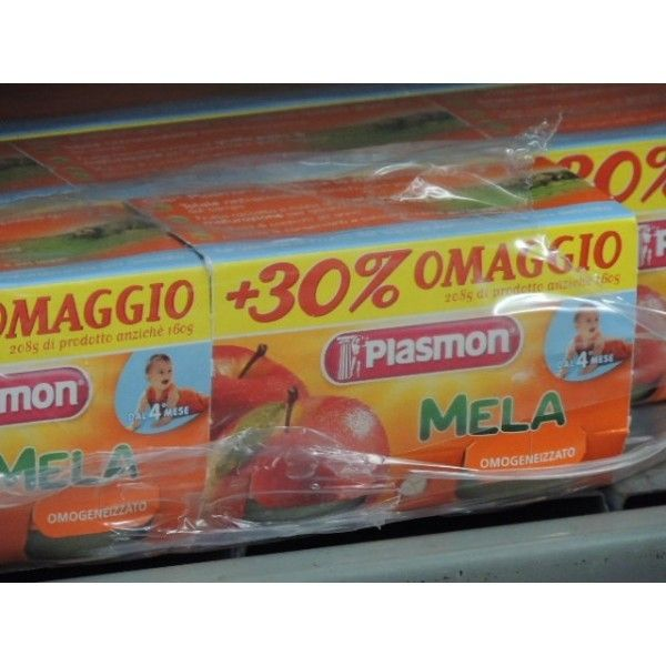 Plasmon   Mela gr. 80 X 2 Omogeneizzato