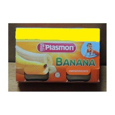 Plasmon   Banana gr. 80 X 2 Omogeneizzato