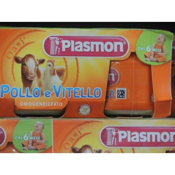 Plasmon  Vitello/Pollo gr 80 X 2 Omogeneizzato