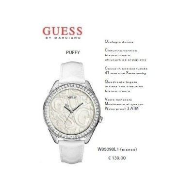 Guess Puffy Bianco