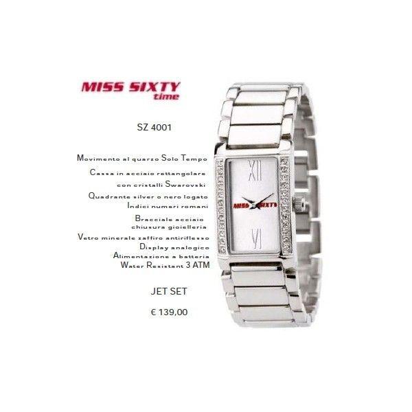 Miss Sixty Jet Set Silver