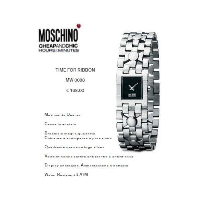 Moschino Time For Ribbon