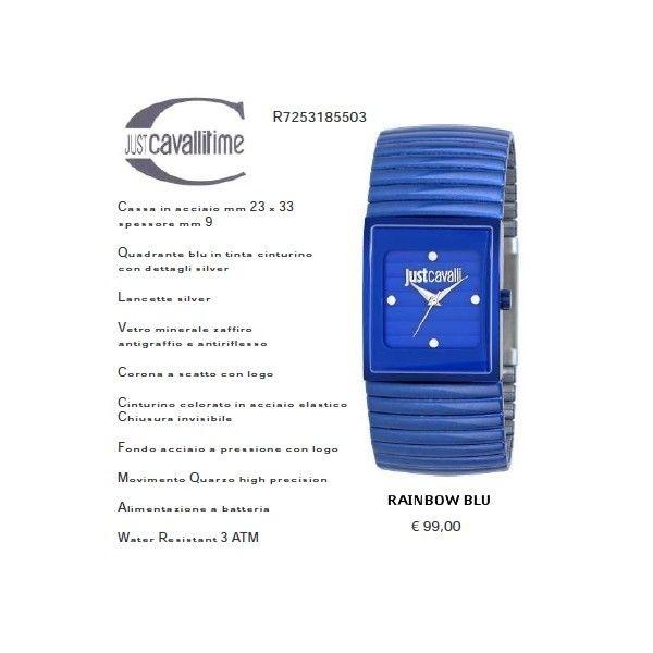 Just Cavalli RAINBOW Blu