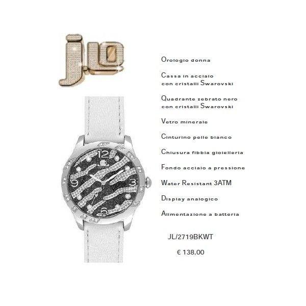 J.Lo. con cristalli swarovsky