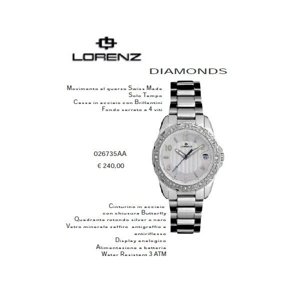 Lorenz Diamonds Silver