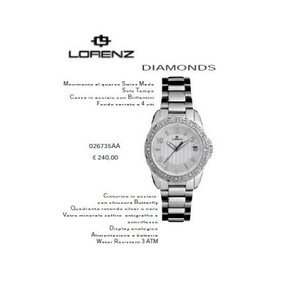Lorenz Diamonds Silver