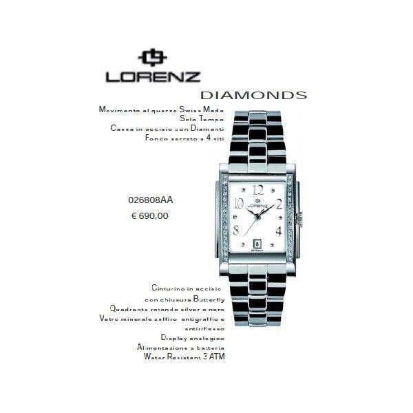 Lorenz Diamonds Silver Quadro