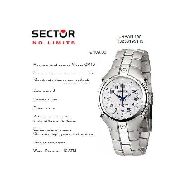 Sector URBAN 195 Quadrante Bianco