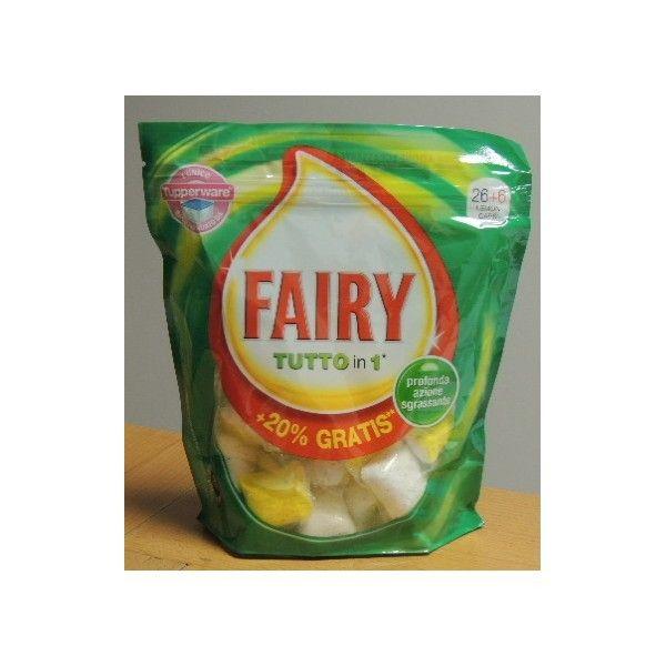 Fairy tutto in 1 tabs 22 casalinghi detersivi detersivi for Tutto per la casa shop online