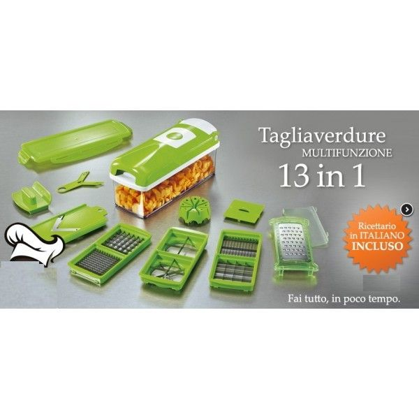 Nicer Dicer Plus Genius 13 in 1