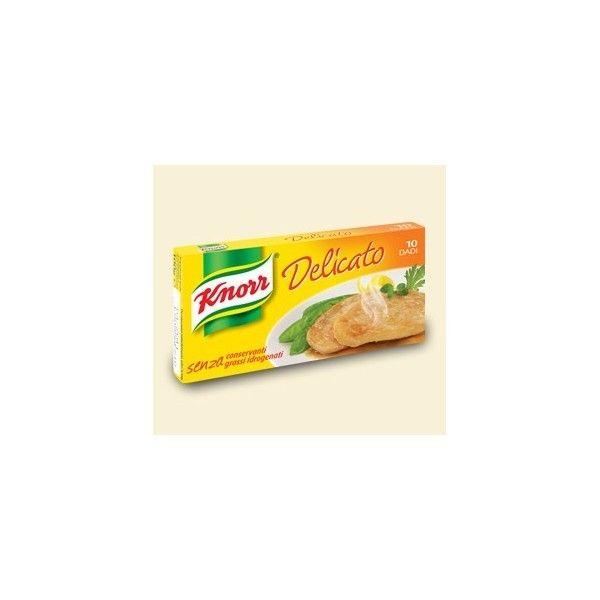 Dado Knorr Brodo Delicato 10 Cubetti