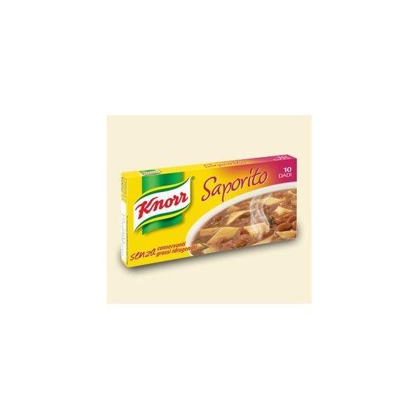 Dadi Knorr  10 Cubetti Saporito