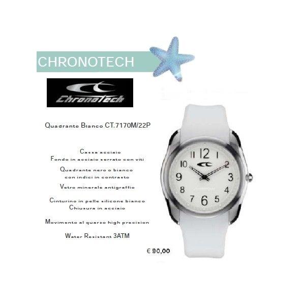 Chronotech Quadrante Bianco