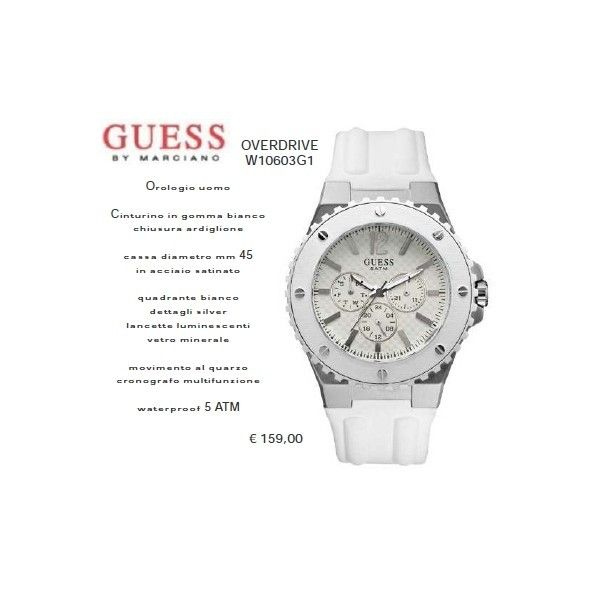 Guess OVERDRIVE Bianco