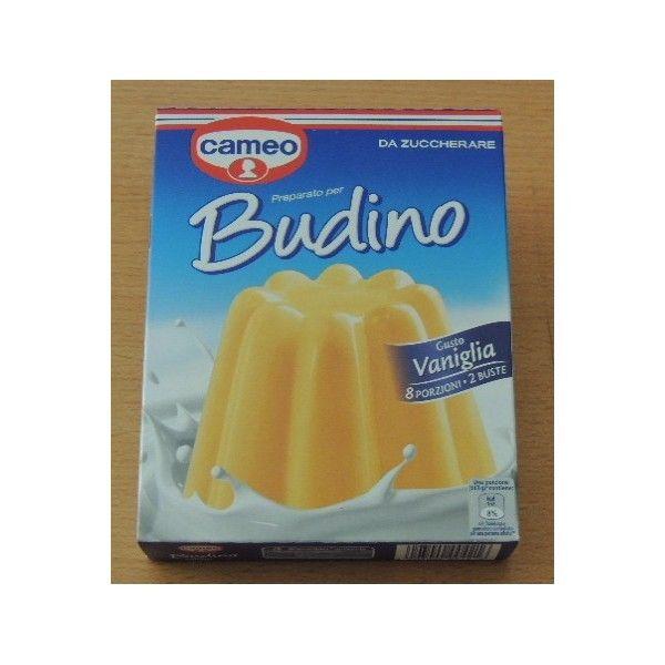 Budino Vaniglia Cameo da Zuccherare 8 prz. 2 buste