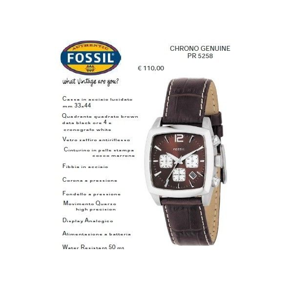 Fossil CHRONO GENUINE