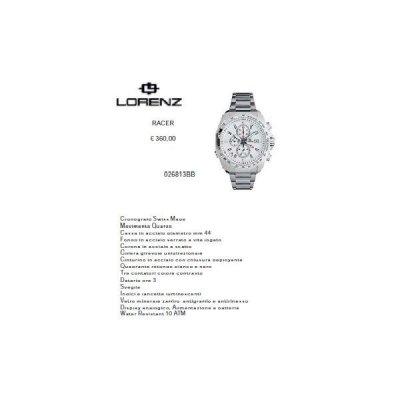 Lorenz Racer Bianco