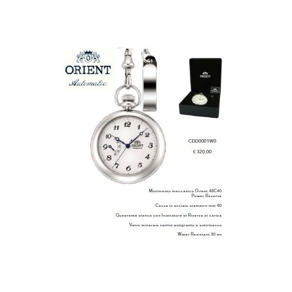 Orient Mechancal Pocket Watch