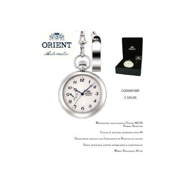 Orient Mechancal Pocket Watch