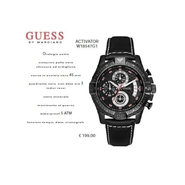 Guess ACTIVATOR Nero
