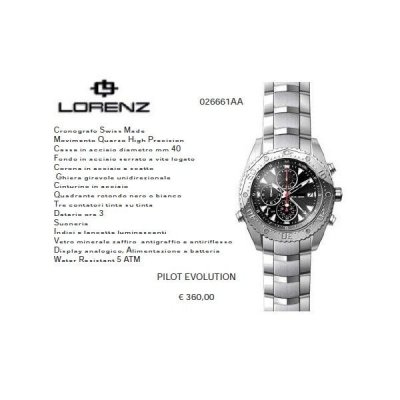 Lorenz PILOT EVOLUTION nero