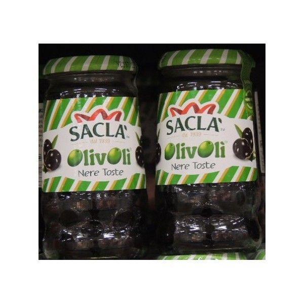 Olive Saclà Nere Toste gr. 200