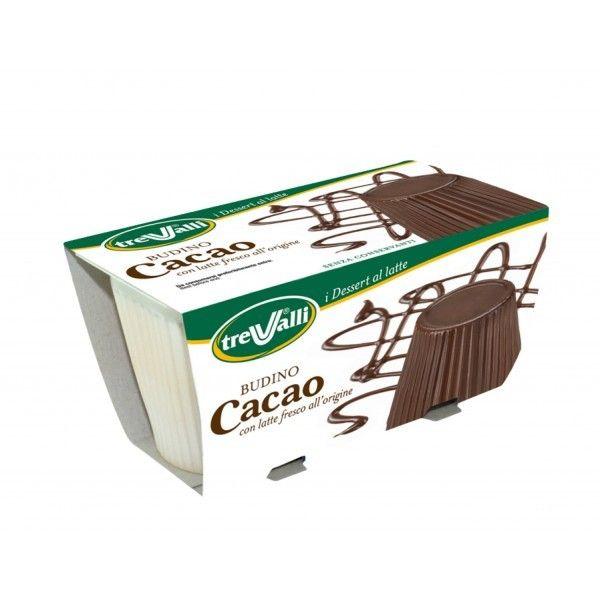 Budino Trevalli gr. 200 Cacao