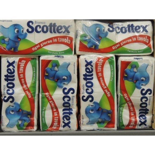 Tovaglioli Di Carta Scottex Monovelo 160