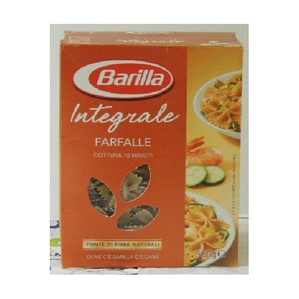 Farfalle Pasta Integrale gr 500 Barilla