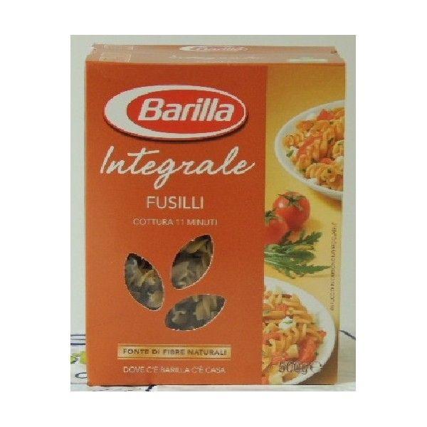 Fusilli Pasta Integrale gr 500 Barilla