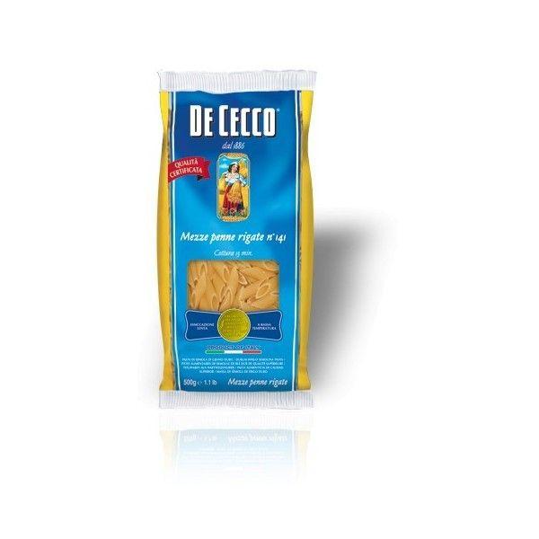 De Cecco Mezze Penne nr. 141 Gr. 500 Pasta