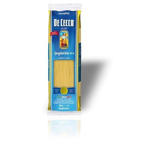 De Cecco Spaghettini nr 11 Gr. 500 Pasta