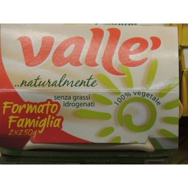 Margarina Vallè Naturalmente gr. 250 X 2