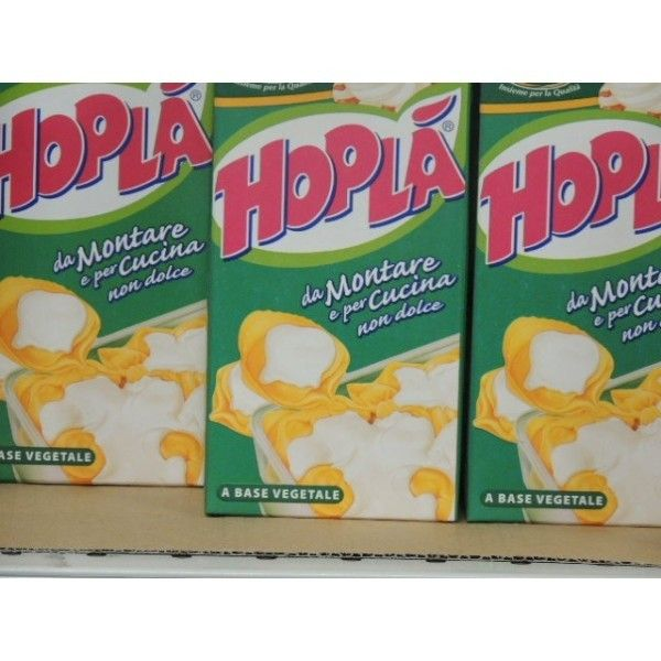 Hoplà Panna Vegetale ML 500 Senza zucchero