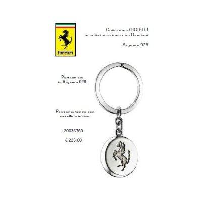 Ferrari Portachiavi in Argento 928