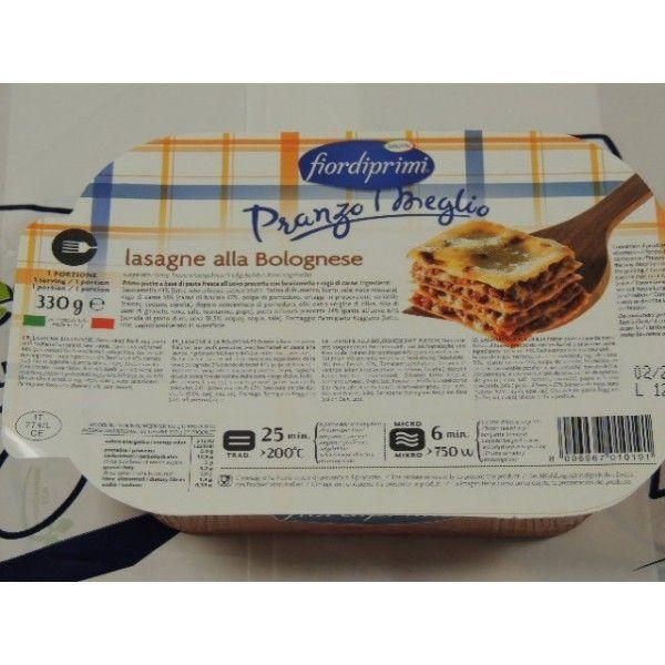 Lasagne Bolognese Monoporz. gr 330