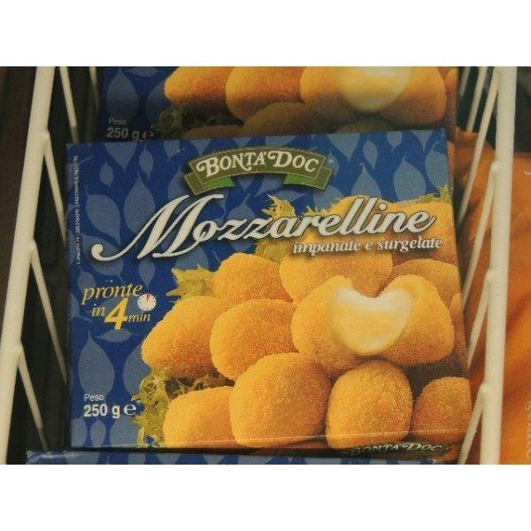 Mozzarelline Impanategr. 250