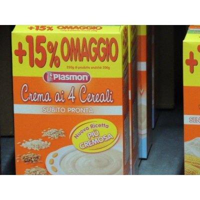 Plasmon Crema Istantanea 4 Cereali