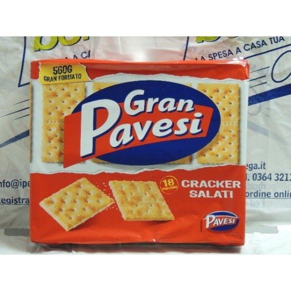 Cracker Gran Pavesi Salati gr 560