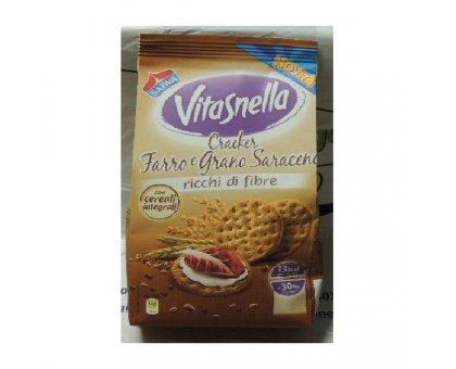 Cracker Farro e Grano Saraceno Vitasnella gr. 200