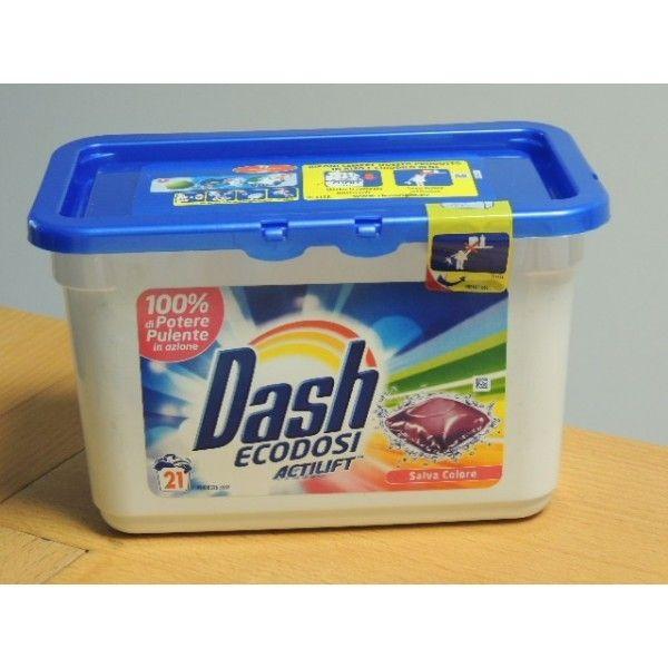 Dash Ecodosi con Actlift Salva Colore 21 Tabs