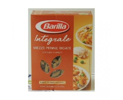 Mezze Penne Rig. Pasta Integrale gr 500 Barilla